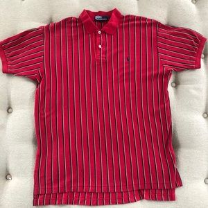 Vintage 90s Polo Ralph Lauren Vertical Stripe Polo